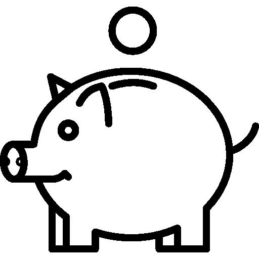salvadanaio a forma di maialino