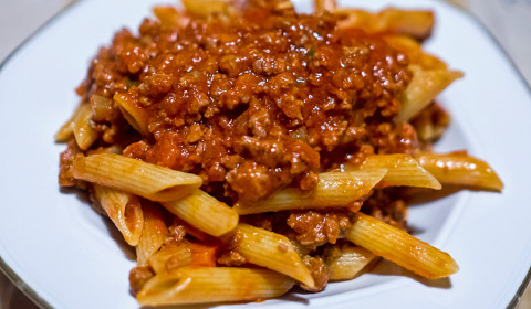 pasta al ragù bolognese