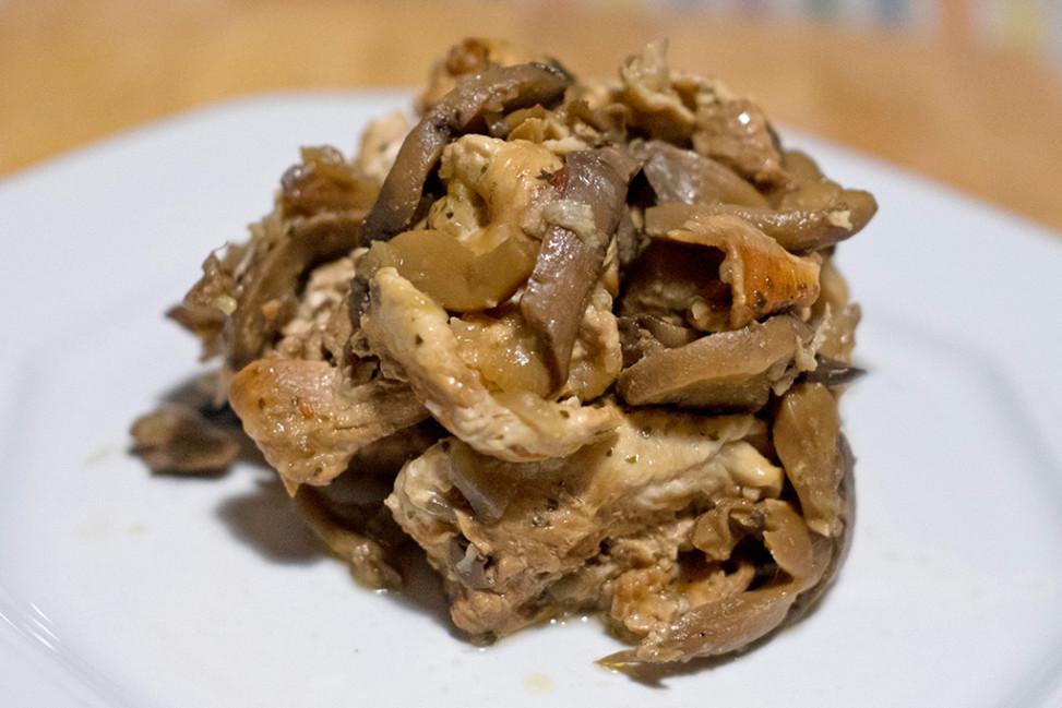 Tacchino ai funghi Slow Cooker