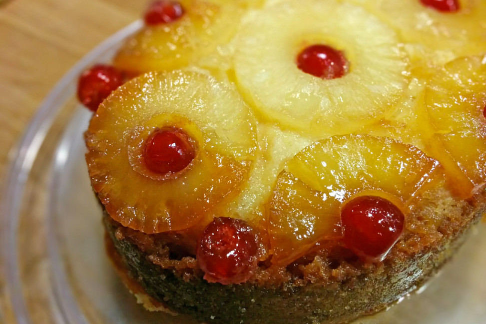 Torta all'ananas Slow Cooker