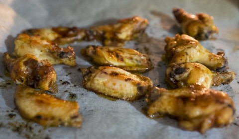 Le alette di pollo in formo per 10 minuti