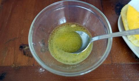 L'emulsione con olio e limone