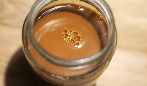 Dulce de leche in un barattolo