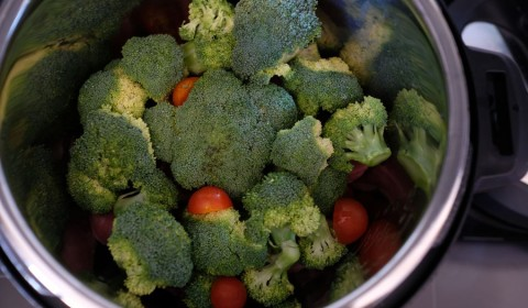 l'aggiunta dei broccoli