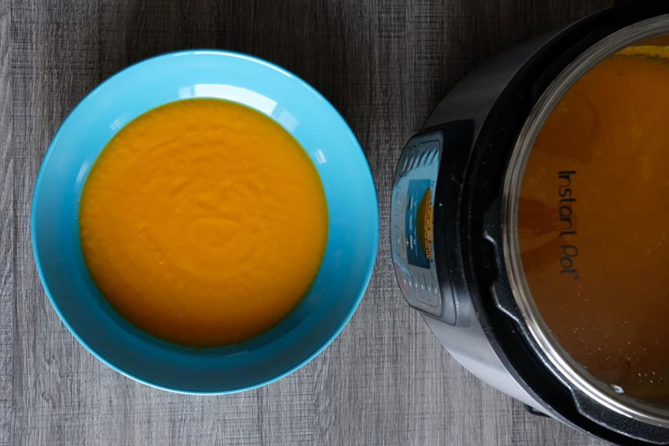 Vellutata di porri e carote Slow Cooker