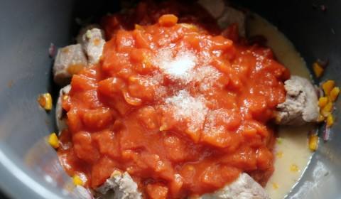Polpa di pomodoro per ragù Slow Cooker