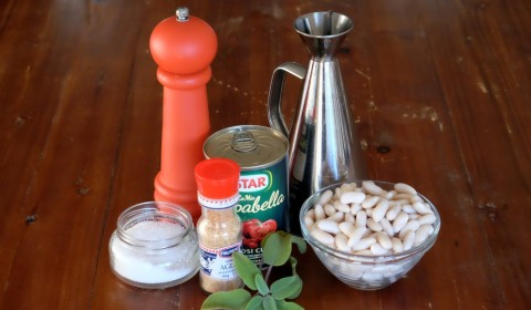 Ingredienti ricetta Fagioli all'uccelletto Slow Cooker