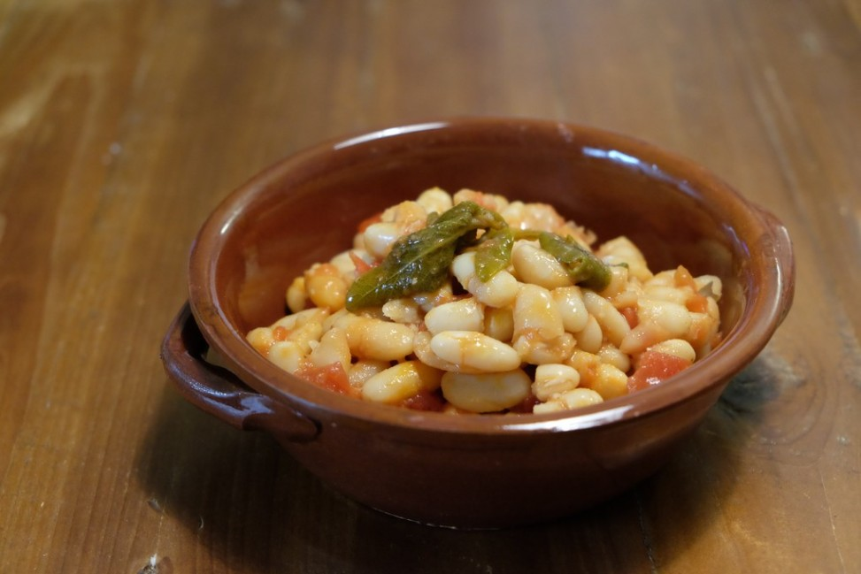 Fagioli all'uccelletto cotti in Slow Cooker