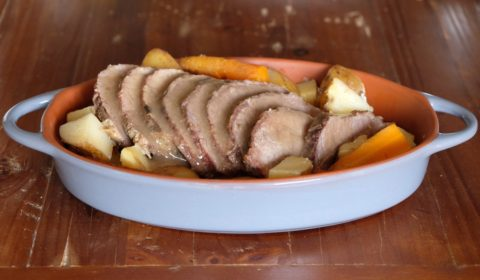 Arrosto di vitello Slow Cooker