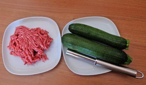 Ingredienti per zucchine ripiene