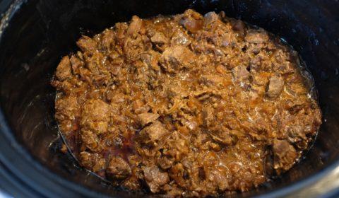 La Genovese di tonno a fine cottura nella Slow Cooker