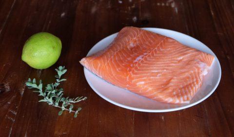 ingredienti per filetto di salmone al limone Slow Cooker