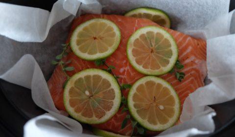 Salmone al limone nella Slow Cooker