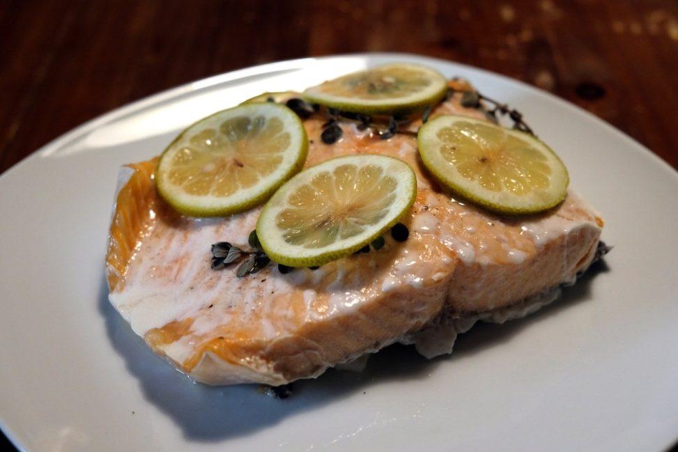 Filetto di salmone al limone Slow Cooker