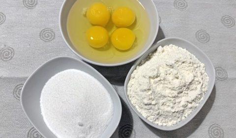 Ingredienti per Pan di Spagna Slow Cooker