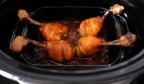 le lollipop chicken nella Slow Cooker