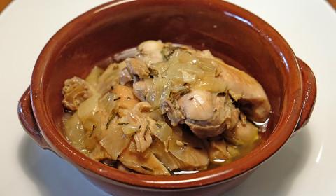 Pollo confit cotto nella Slow Cooker