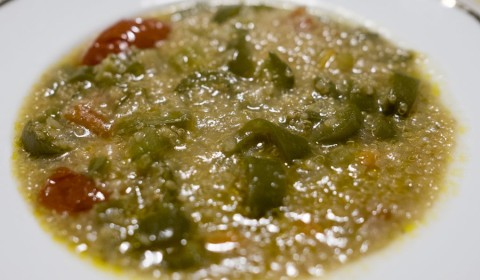 Zuppa di quinoa Slow Cooker
