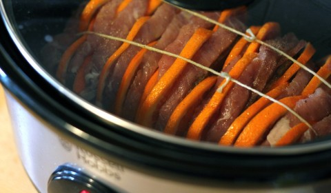 Arista all'arancia nella Slow Cooker