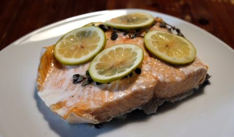 Filetto di salmone al limone Slow Cooker