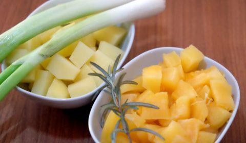 Ingredienti per Vellutata di zucca e patate
