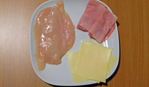 ingredienti per Cordon bleu nella Slow Cooker