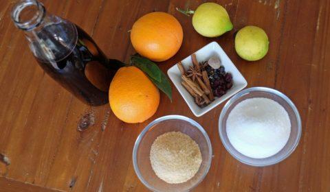 Ingredienti per Vin Brulé Slow Cooker