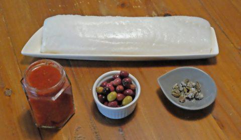 Ingredienti per ricetta baccalà al pomodoro Slow Cooker