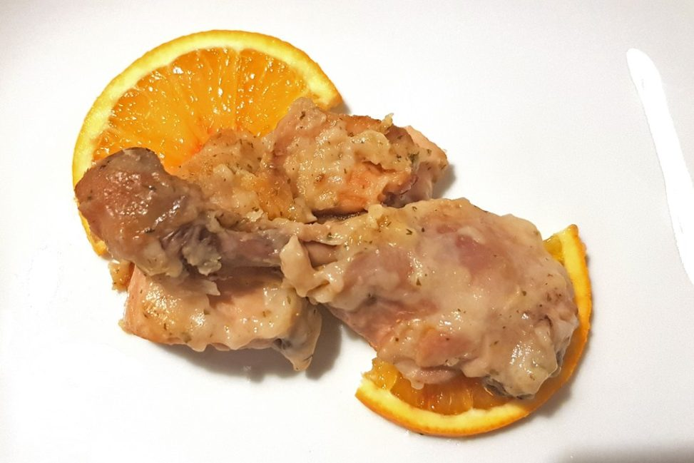 Pollo alle arance Slow Cooker