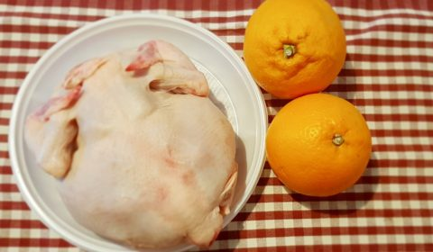 Ingredienti per ricetta Pollo alle arance Slow Cooker