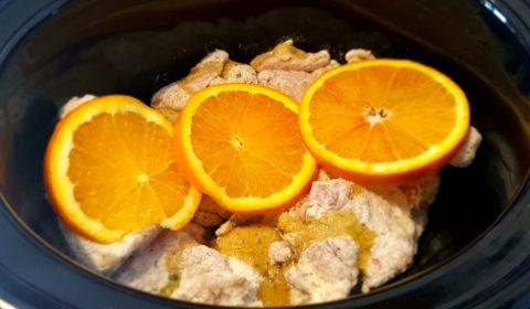 Pollo alle arance cotto nella Slow Cooker