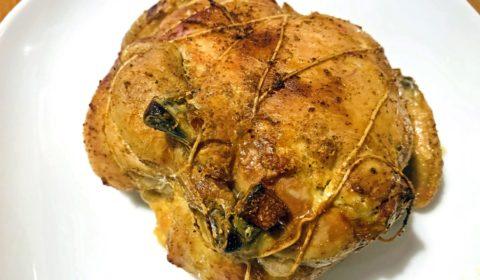 Pollo ripieno Slow Cooker