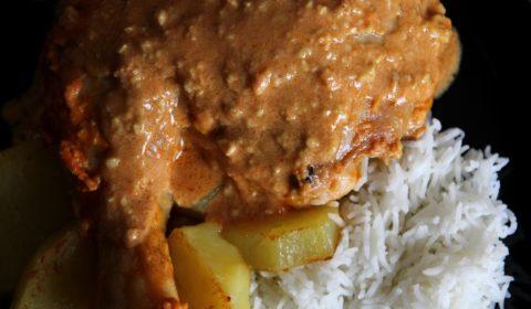 Pollo in salsa di anacardi Slow Cooker