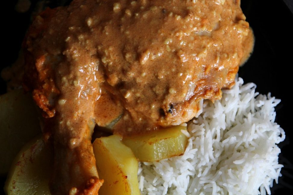 Pollo in salsa di anacardi Slow Cooker