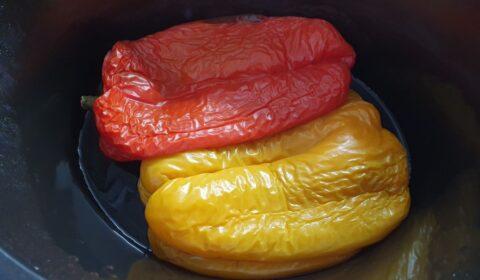 I peperoni a fine cottura nella Slow Cooker